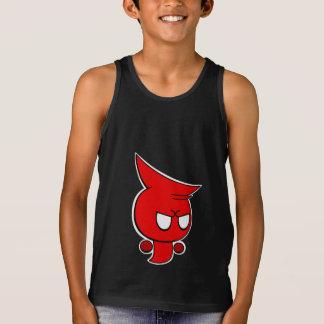 GHOSTTOON™ Brand Red Gash Boy's Tank Top