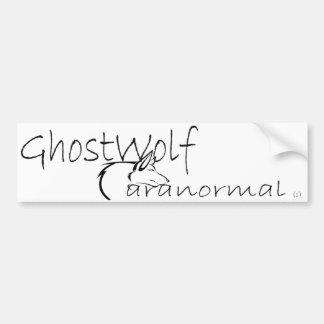 GhostWolf Bumper Car Bumper Sticker