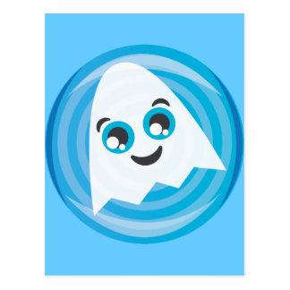 Ghosty Postcard
