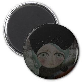 Ghotic Black Dark Magnet