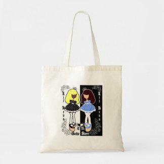 Ghotic & Sweet Tote Bags