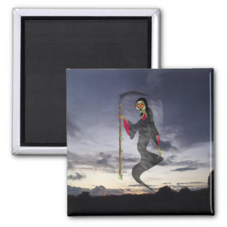 , ghoul 2 inch square magnet