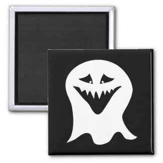 Ghoul. Black and White. Fridge Magnet