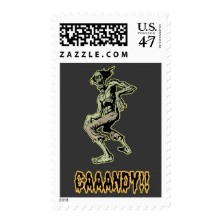 Ghoul Candy Postage Stamp