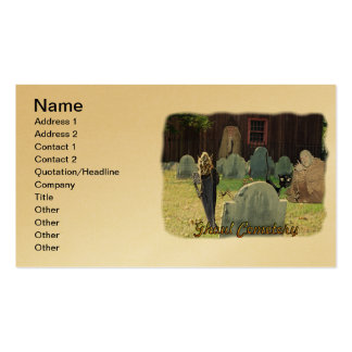 Ghoul Cemetery Business Card