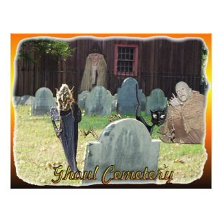 Ghoul Cemetery Flyer