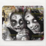 ghoul friends mouse pad