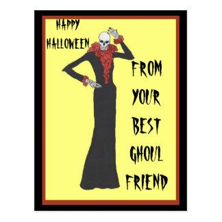 Ghoul Friends Postcard