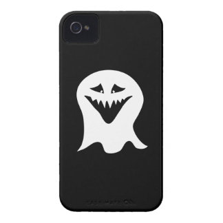 Ghoul Ghost. Black and White. iPhone 4 Case