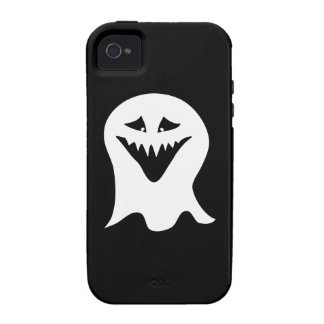 Ghoul Ghost. Black and White. iPhone 4 Cover