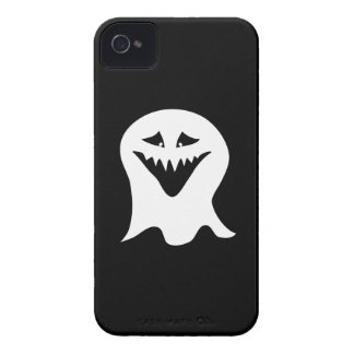 Ghoul Ghost. Black and White. iPhone 4 Case-Mate Cases