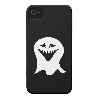 Ghoul Ghost. Black and White. iPhone 4 Case-Mate Case
