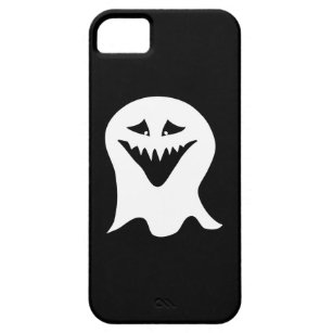 Ghoul Ghost. Black and White. iPhone SE/5/5s Case