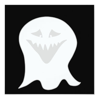 Ghoul Ghost. Gray and White. Announcements