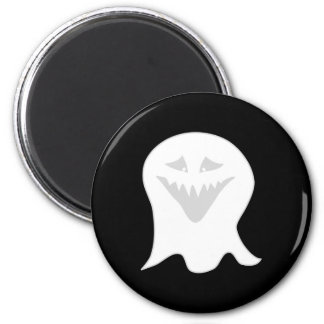 Ghoul Ghost. Gray and White. Magnet