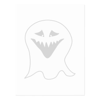 Ghosts Cartoon Postcards   Zazzle
