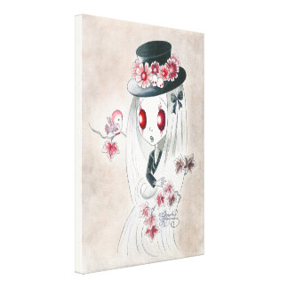 Ghoul Girl: Keira Canvas Print