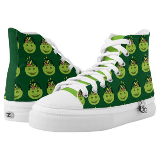 Ghoul Halloween Pail High-Top Sneakers