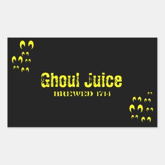 Ghoul Juice Rectangular Sticker