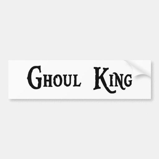 Ghoul King Sticker Bumper Sticker