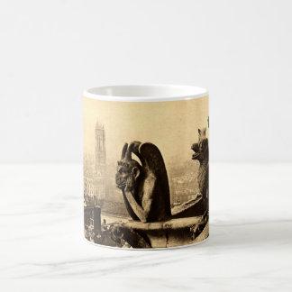 Ghoul Notre Dame, Paris France 1912 Vintage Coffee Mug