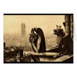 Ghoul Notre Dame, Paris France 1912 Vintage Greeting Card