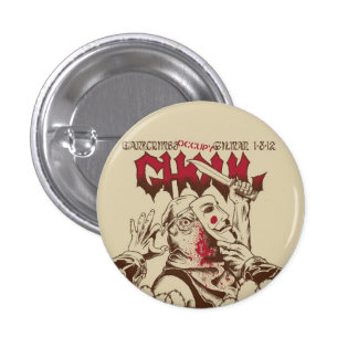 Ghoul Show Flyer Button