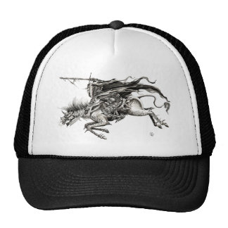 Ghoul to wrinkle mesh hats