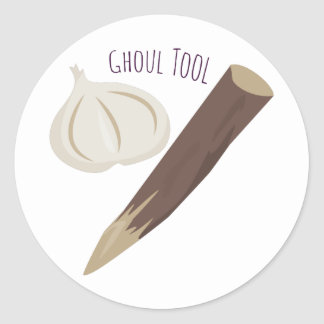 Ghoul Tool Classic Round Sticker