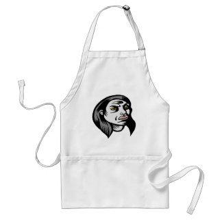 Ghoul Woman Aprons