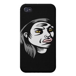 Ghoul Woman iPhone 4/4S Covers