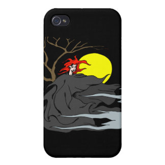 Ghoul Woman iPhone 4 Cases
