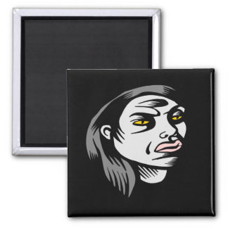 Ghoul Woman Magnets