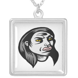 Ghoul Woman Necklace