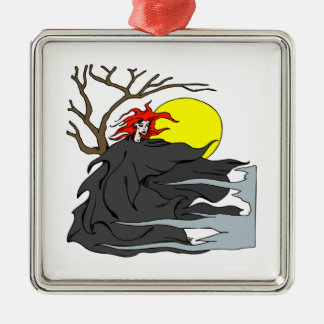 Ghoul Woman Christmas Ornament