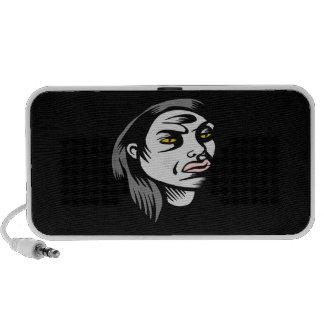 Ghoul Woman iPhone Speaker