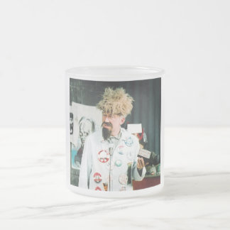 Ghoulardi (On The Set-1) 10 oz Frosted Glass Mug