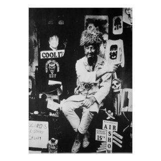 Ghoulardi  (On The Set-2)  Matte Poster