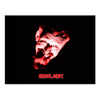 Ghoulardi (Red) Postcard