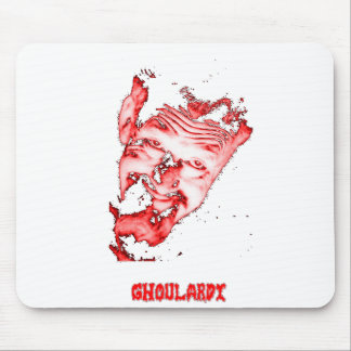 Ghoulardi (Red/Transparent) Customizable Mousepad