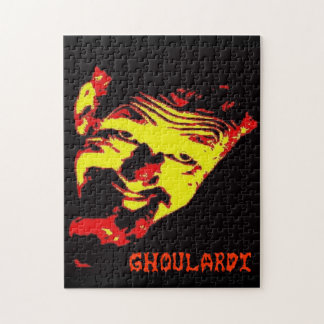 Ghoulardi (Red/Yellow) 11x14 Puzzle with Gift Box