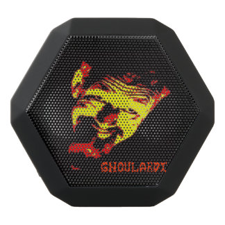 Ghoulardi (Red/Yellow) Boombot REX Speakers