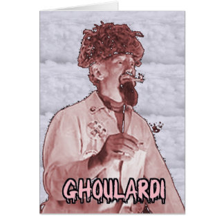 Ghoulardi (Surreal 1) Greeting Card with Envelope