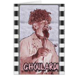 Ghoulardi (Surreal 2) Greeting Card with Envelope