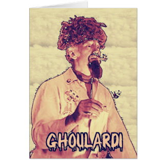 Ghoulardi (Surreal 4) Greeting Card with Envelope