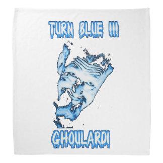 Ghoulardi (Turn Blue) Customizable Bandana