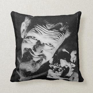 "Ghoulardi (W/Skull-1) 16"" x 16"" Throw Pillow"