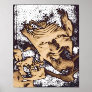 Ghoulardi  (W/Skull-3) Matte Poster