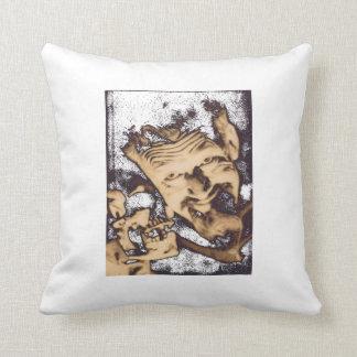 Ghoulardi (W/Skull-Transparent) Throw Pillow