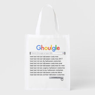 Ghoulgle Last Minute Halloween Costume Search 2017 Grocery Bag